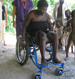 Wheeling around Haiti